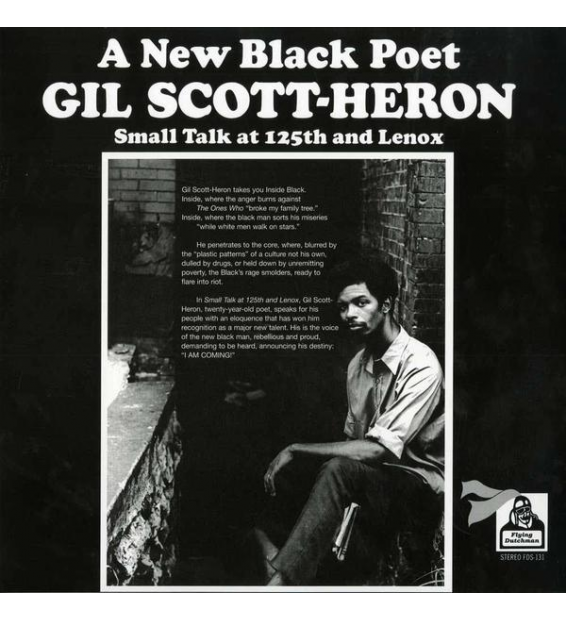 GIL SCOTT HERON - small talk at 125th