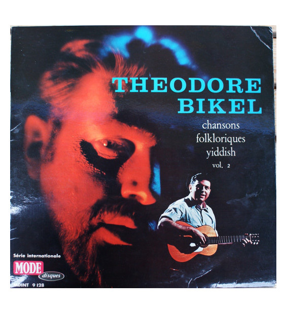 Theodore Bikel - Chansons Folkloriques Yiddish Vol. 2 (LP)
