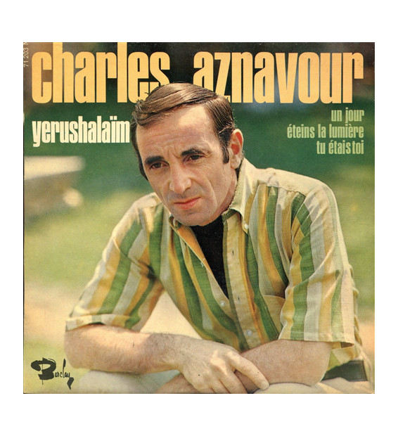 "Charles Aznavour - Yerushalaïm (7"", EP)"