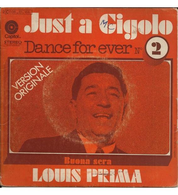 """Louis Prima - Just A Gigolo (7"""", Single)"""
