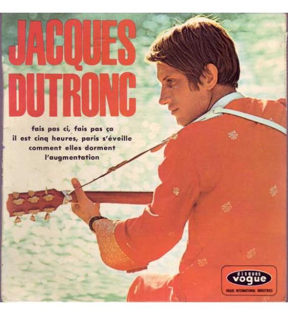 """Jacques Dutronc - Il Est Cinq Heures, Paris S'Éveille (7"""", EP)"""