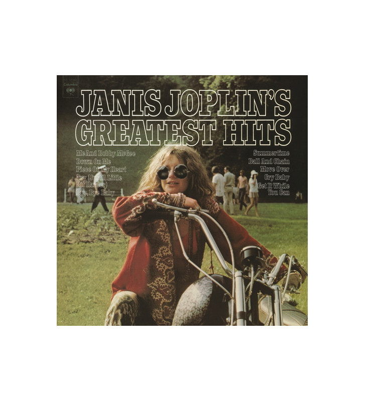 Janis Joplin - Janis Joplin's Greatest Hits (LP, Comp, RE) mesvinyles.fr