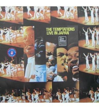 The Temptations - Live In Japan (LP, Album)
