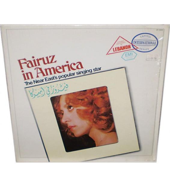 Fairuz - فيروز في أميركا Fairuz In America (LP, Comp) mesvinyles.fr