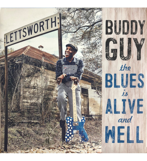 Buddy Guy - The Blues Is Alive And Well (2xLP, Album, 180) mesvinyles.fr