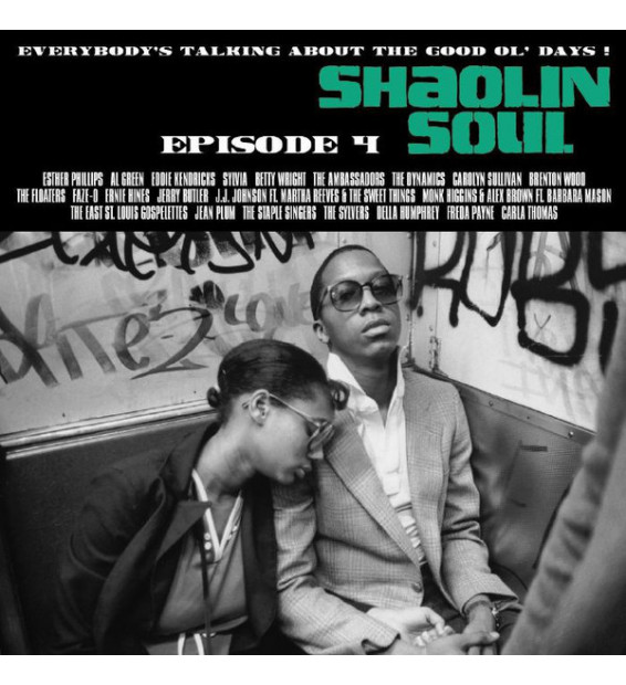 Various - Shaolin Soul (Episode 4) (2xLP, Comp, Gre + CD, Comp + Ltd) mesvinyles.fr