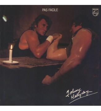 Johnny Hallyday - Pas Facile (LP, Album)