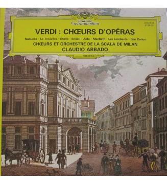 Verdi*, Chœurs* Et Orchestre De La Scala De Milan*, Claudio Abbado - Verdi : Chœurs D'Opéras (LP, RE, Gat)