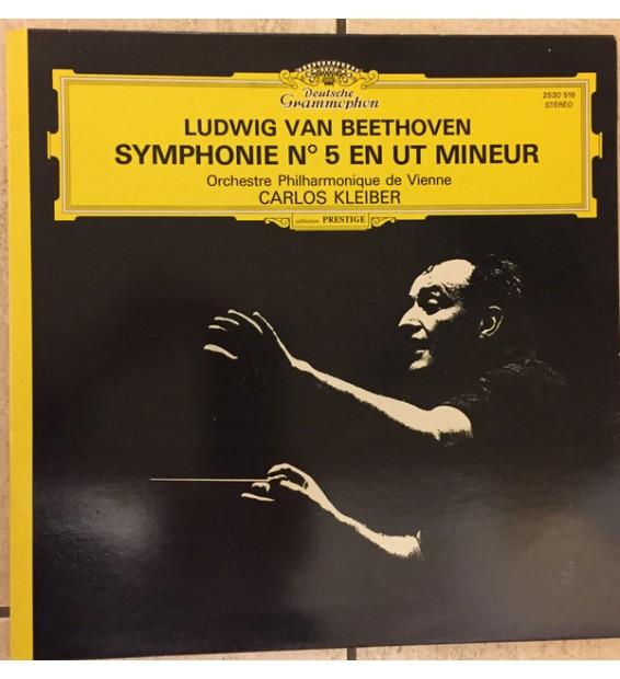 Beethoven* - Wiener Philharmoniker, Carlos Kleiber - Symphonie Nr. 5 (LP, Gat) mesvinyles.fr