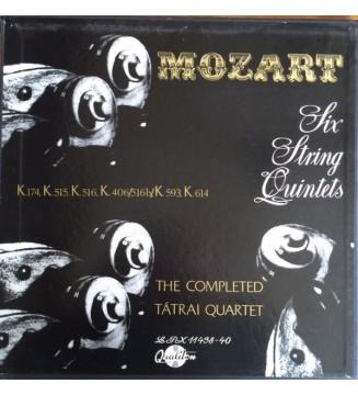 Mozart* - Tátrai Quartet, Vilmos Tátrai, István Várkonyi, György Konrád, Anna Mauthner, Ede Banda - Mozart: The String Quintets