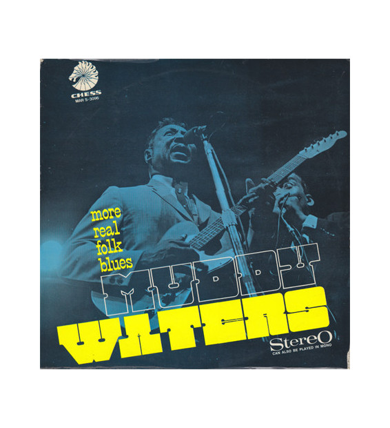Muddy Waters - More Real Folk Blues (LP, Album) mesvinyles.fr