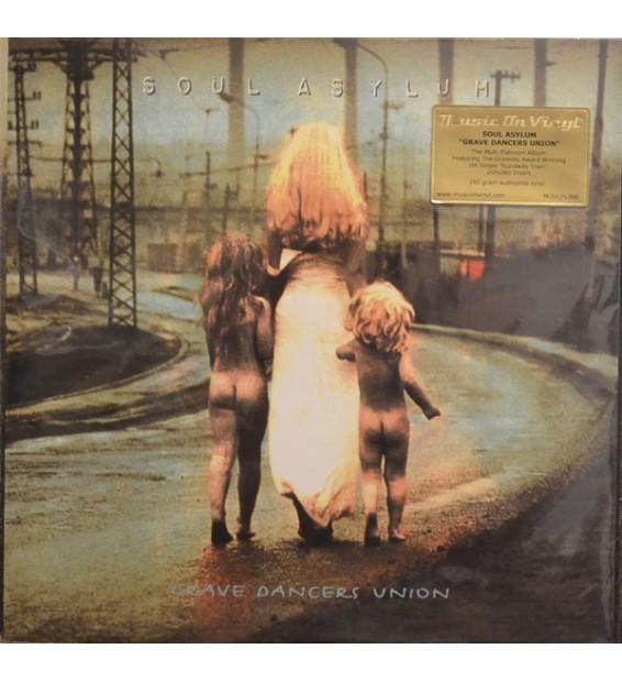 Soul Asylum (2) - Grave Dancers Union (LP, Album, RE)