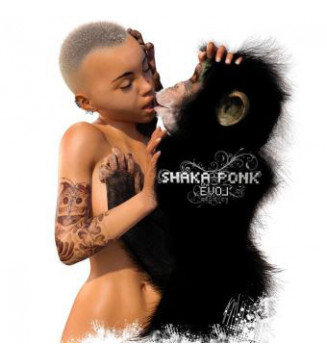 Shaka Ponk - The Evol' (2xLP, Album + CD, Album)