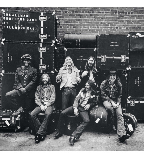 The Allman Brothers Band - The Allman Brothers Band At Fillmore East (2xLP, Album, RE, RM, 180)