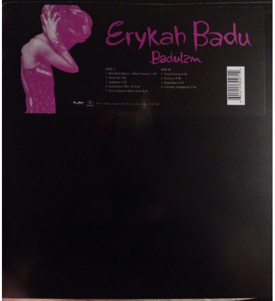 Erykah Badu - Baduizm (LP, Album, RE)