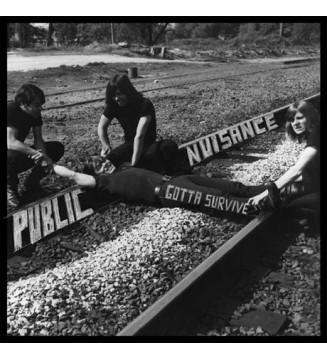 Public Nuisance (2) - Gotta Survive (LP, Album, RE) mesvinyles.fr