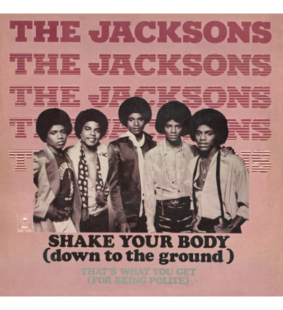"The Jacksons - Shake Your Body (Down To The Ground) (12"", Maxi)"