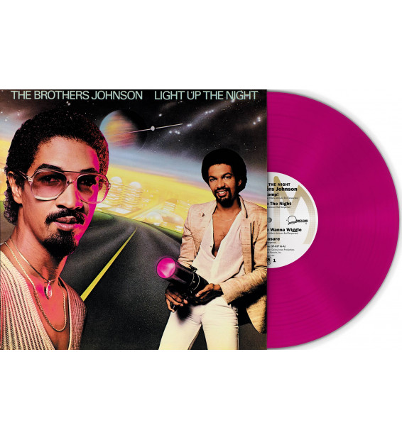 The Brothers Johnson* - Light Up The Night (LP, Album, Gat) Vinyle Rose
