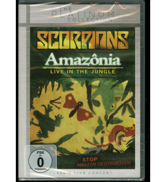 Scorpions - Amazônia - Live In The Jungle (DVD-V, RE, PAL, Zon)