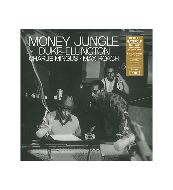 Duke Ellington, Charlie Mingus*, Max Roach - Money Jungle (LP, Album, RE, 180)