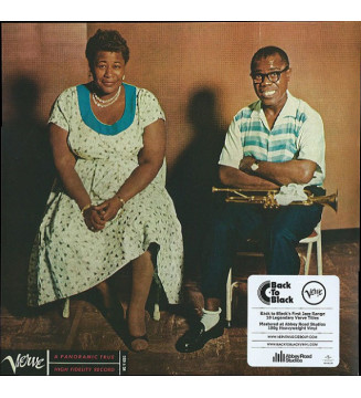 Ella Fitzgerald & Louis Armstrong - Ella And Louis (LP, Album, RE, RM, 180) mesvinyles.fr