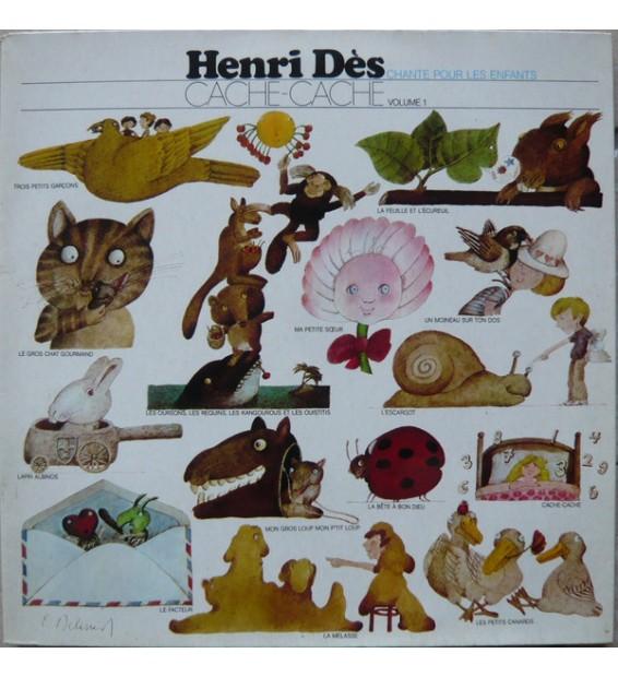 Henri Dès - 1 - Cache-Cache (LP)