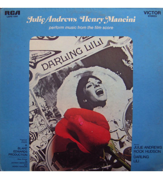Julie Andrews / Henry Mancini - Perform Music From The Film Score Darling Lili (LP) mesvinyles.fr