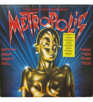 Various - Metropolis (Original Motion Picture Soundtrack) (LP, Album, Gat) mesvinyles.fr