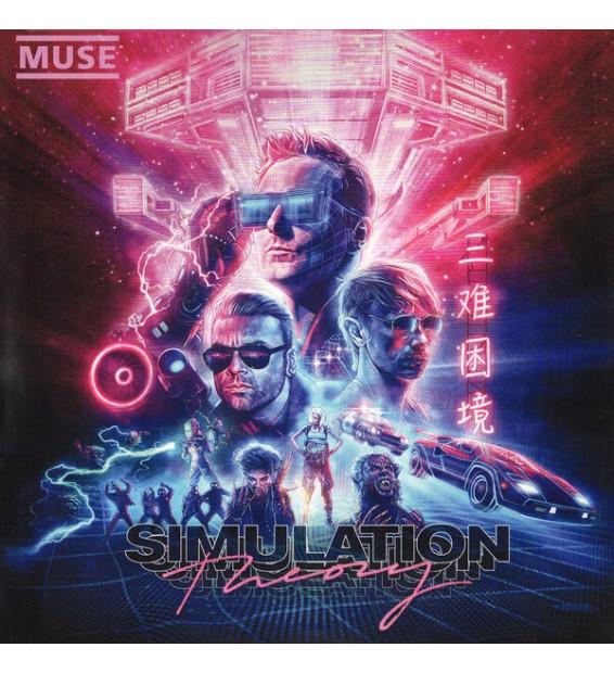Muse - Simulation Theory (LP, Album) mesvinyles.fr