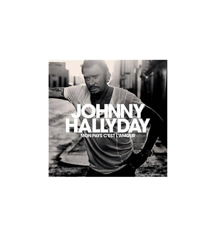 Johnny Hallyday - Mon pays c'est l'amour mesvinyles.fr