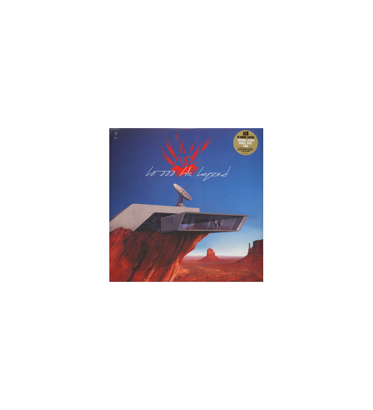 AIR - 10,000 Hz Legend (2xLP, Album, RE, 180) mesvinyles.fr
