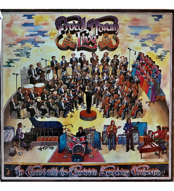 Procol Harum - Live - In Concert With The Edmonton Symphony Orchestra (LP, Album)