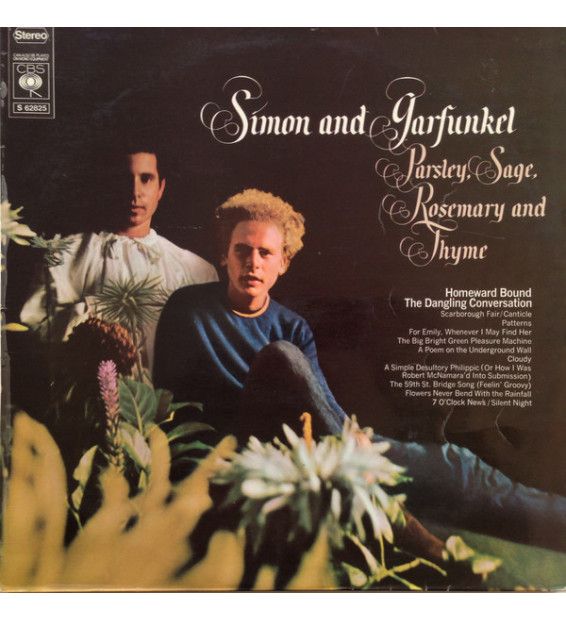 Simon And Garfunkel* - Parsley, Sage, Rosemary And Thyme (LP, Album, RE)