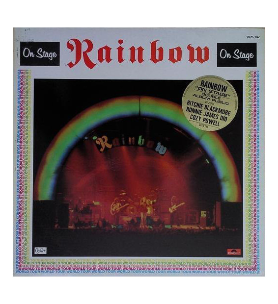 Rainbow - On Stage (2xLP, Album, Gat) mesvinyles.fr