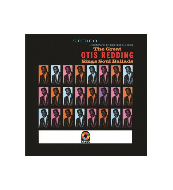 Otis Redding - The Great Otis Redding Sings Soul Ballads (LP, Album, RE, 180)