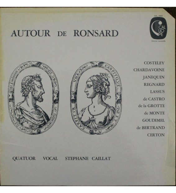 Quatuor Vocal Stephane Caillat* - Autour De Ronsard (LP, Album)