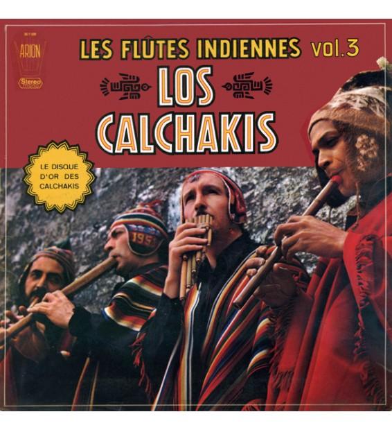 Los Calchakis - Les Flûtes Indiennes Vol.3 (LP, Album) mesvinyles.fr