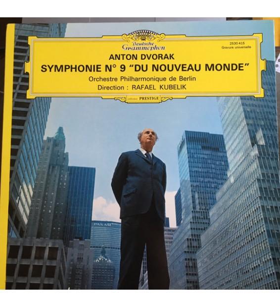 """Antonín Dvořák, Berliner Philharmoniker, Rafael Kubelik - Symphonie n°9 """"Du Nouveau Monde"""" (LP)"""