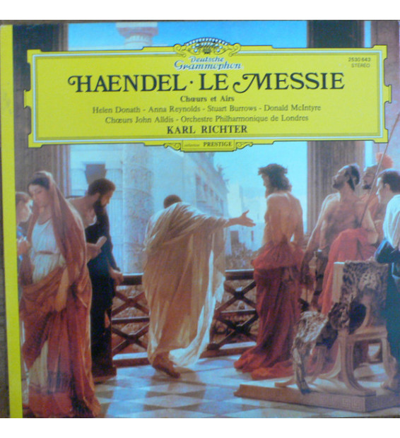 Haendel* - Le Messie (Chœurs Et Airs) (LP, RE, Gat) mesvinyles.fr