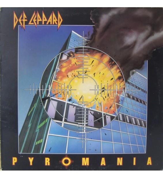 Def Leppard - Pyromania (LP, Album)