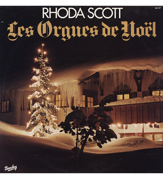 Rhoda Scott - Les Orgues De Noël (LP, Album)