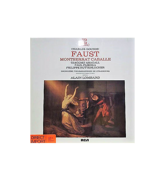 Charles Gounod - Faust (4xLP, Box)