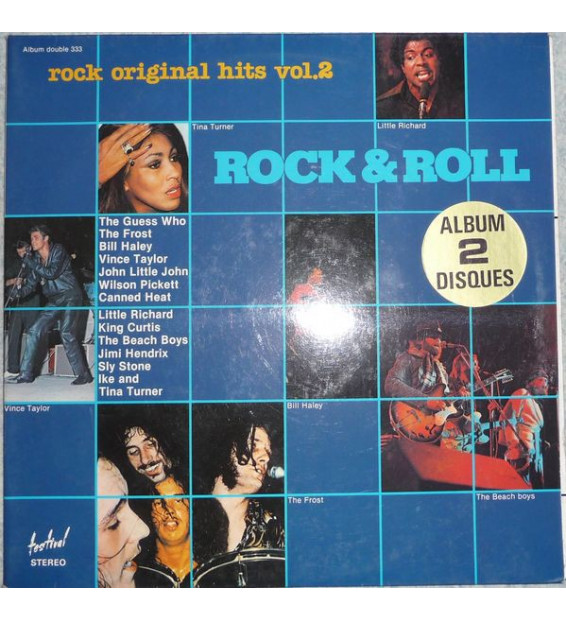 Various - Rock Original Hits Vol.2 (2xLP, Comp, Gat) mesvinyles.fr