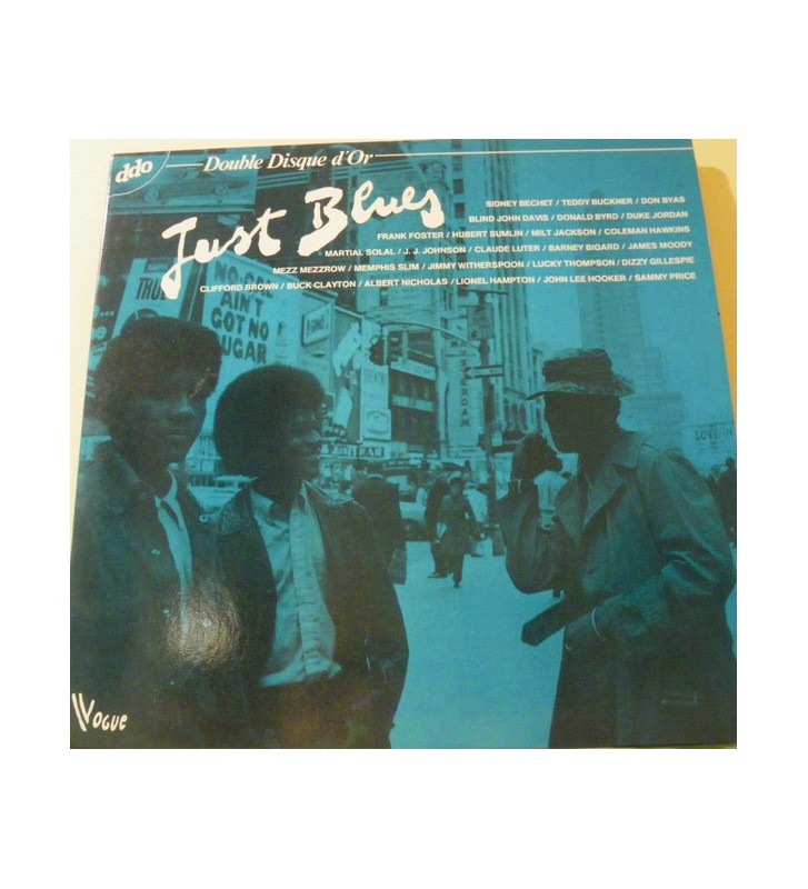 Various - Just Blues (2xLP, Comp, Gat) mesvinyles.fr