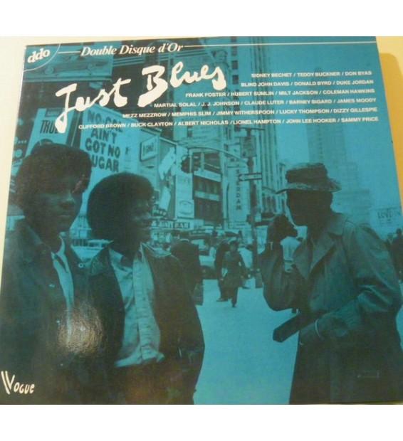 Various - Just Blues (2xLP, Comp, Gat) mesvinyles.fr