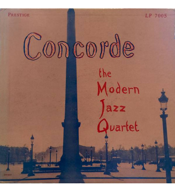 The Modern Jazz Quartet - Concorde (LP, Album, RE) mesvinyles.fr