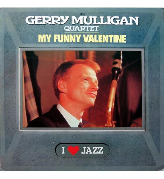 The Gerry Mulligan Quartet* - My Funny Valentine (LP, Album, RE)