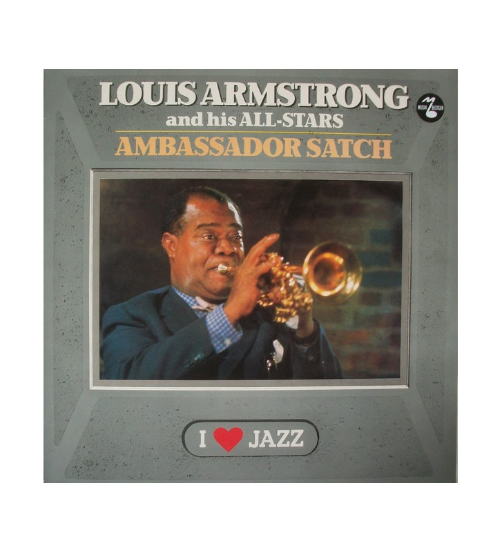 Louis Armstrong And His All-Stars - Ambassador Satch (LP, Album, RE) mesvinyles.fr