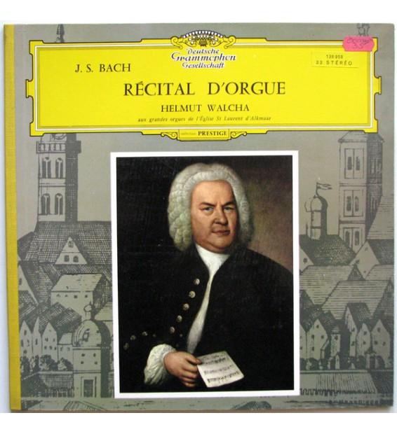 J.S. Bach* – Helmut Walcha - Récital D'Orgue (LP, Album) mesvinyles.fr
