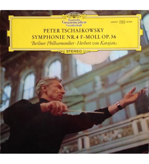 Peter Tschaikowsky*, Herbert von Karajan - Symphonie Nr. 4 F-moll Op. 36 (LP) mesvinyles.fr
